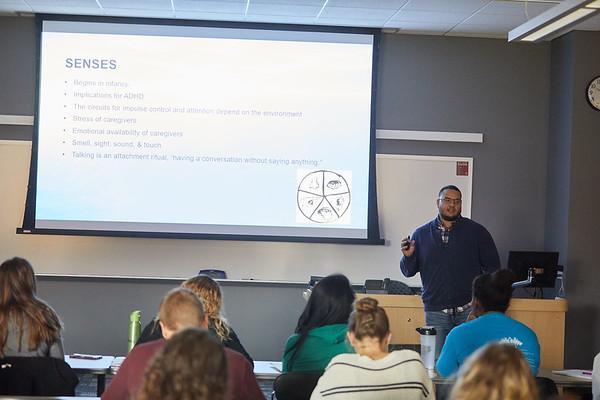 2018 UWL Fall Psychology Faculty Teaching James Puckett