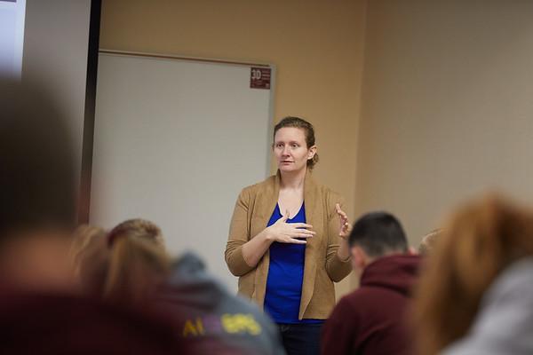 2018 UWL Fall Psychology Faculty Teaching Ellen Rozek