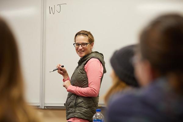 2018 UWL Fall Psychology Faculty Teaching Jocelyn Newton