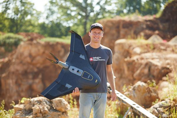 2018 UWL Geography Jackson Radenz Niti Mishria Drone UAS Quarry Survey 0034