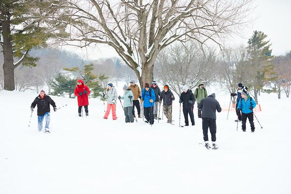 2019 UWL Spring Snowshoeing Class 0007