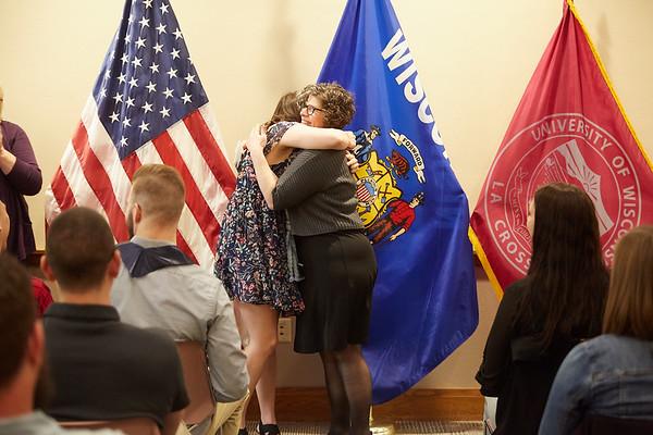 2019 UWL Spring ROTC Stole Ceremony0056