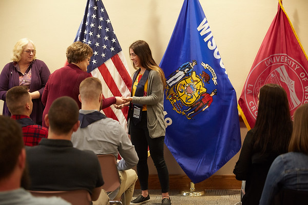 2019 UWL Spring ROTC Stole Ceremony0062