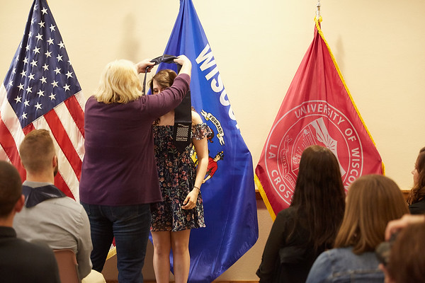 2019 UWL Spring ROTC Stole Ceremony0050