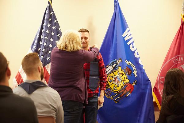 2019 UWL Spring ROTC Stole Ceremony0042