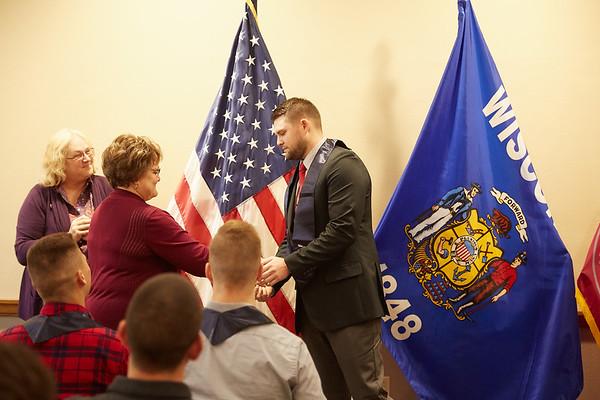 2019 UWL Spring ROTC Stole Ceremony0048