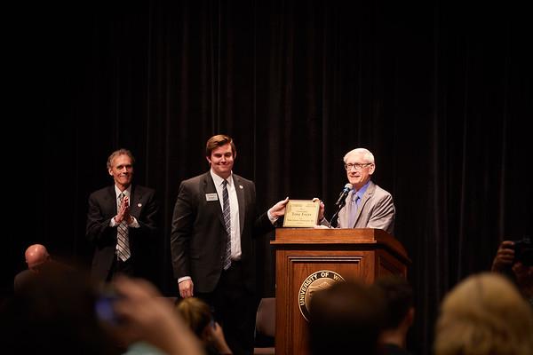 2019 UWL Tony Evers Higher Education Advocate Award 0068