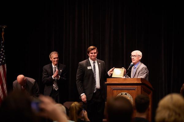2019 UWL Tony Evers Higher Education Advocate Award 0066
