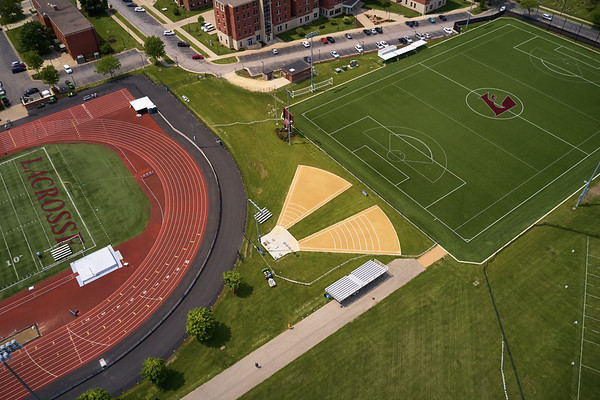 2019 UWL WIAA State Track Roger Harring Field Facilities Drone 0071