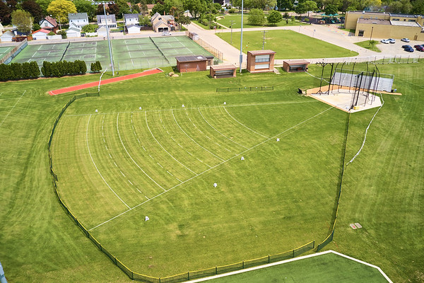 2019 UWL WIAA State Track Roger Harring Field Facilities Drone 0051