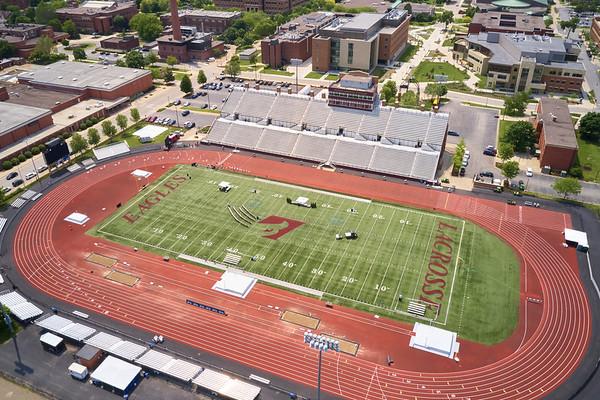 2019 UWL WIAA State Track Roger Harring Field Facilities Drone 0069