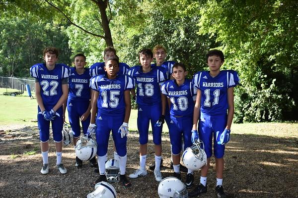 Middle School Football 2018
