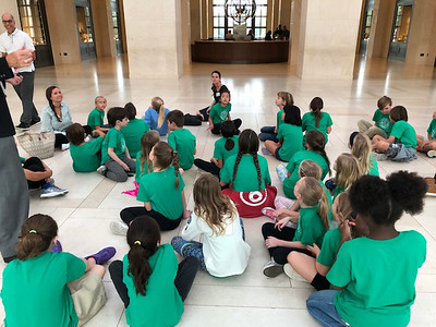 Fourth Grade Field Trip to Bush Presidential Library