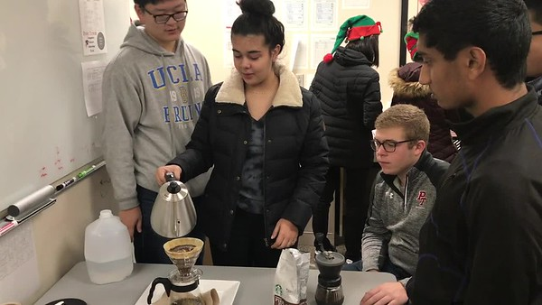Computer Science Education Week-Pour Over Coffee Day