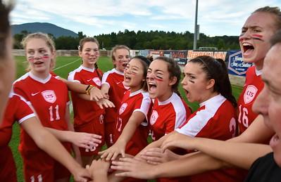 LTS Girls Varsity Soccer vs MSJ photos by Gary Baker