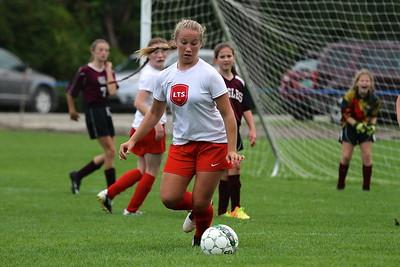 LTS M.S. Girls Soccer vs Arlington II photos by Gary Baker