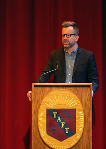 Morning Meeting speaker Jason Gay, sports columnist for The Wall Street Journal