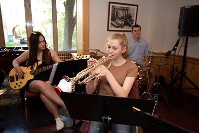 Jazz Band Performing