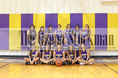 2018-2019 OMS Lady Lions Basketball