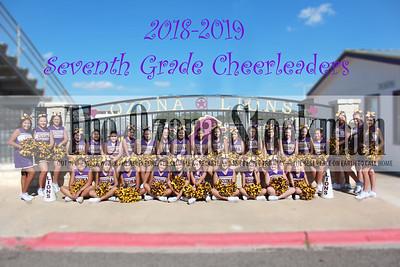 2018 OMS Cheerleaders