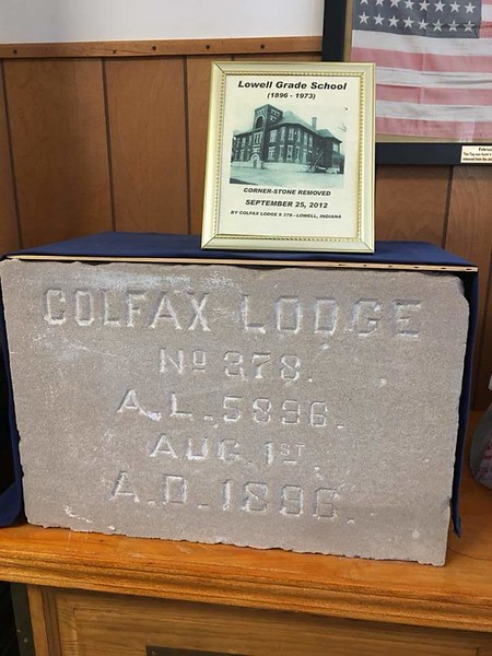 Colfax Lodge No 378 150th Re-dedication Ceremony 06-09-2018
