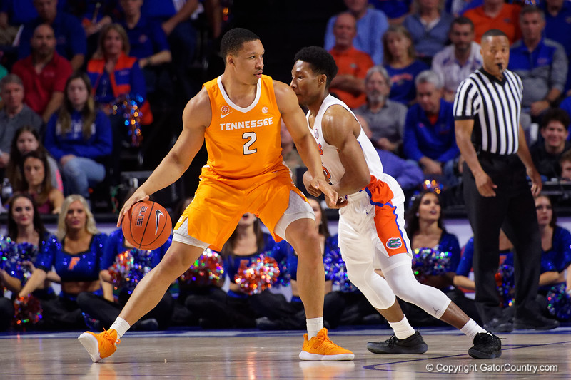 Florida Gators Mens Basketball Tennessee Volunteers 2019
