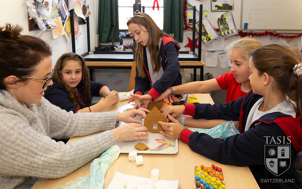 Fifth Grade Architects Use Gingerbread to Design Houses!