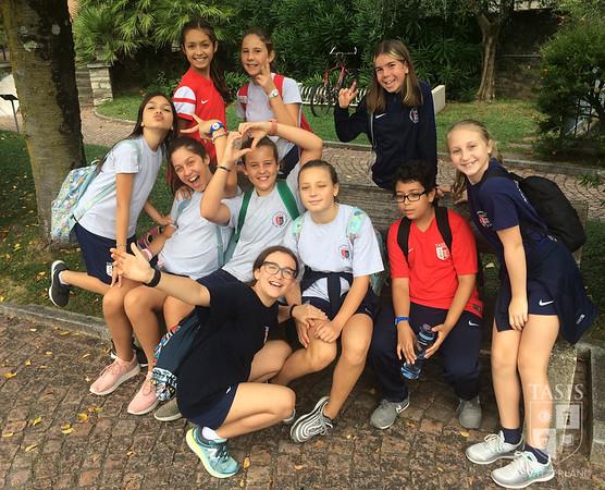 TASIS Sixth Graders Take to the Waters of Lake Lugano