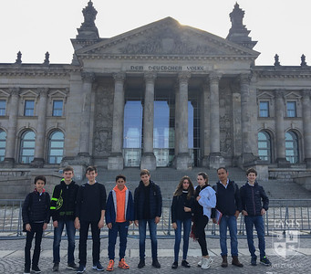 Middle School Advanced German Students Visit Berlin