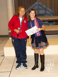 Middle School Fall Activity Awards