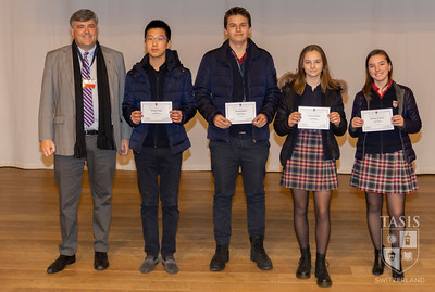 Middle School Awards Assemblies