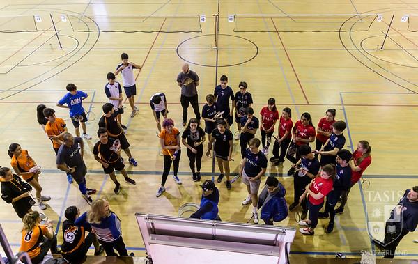 ESC Badminton Tournament  at TASIS