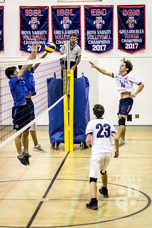 TASIS Boys Volleyball vs. ASM - Family Weekend