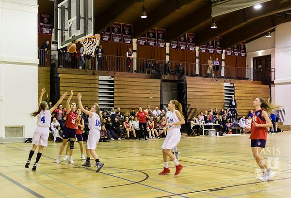 TASIS Girls Basketball Home Opener vs ASM