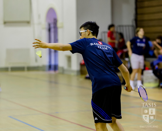 TASIS Hosts SGIS Badminton Doubles Tournament