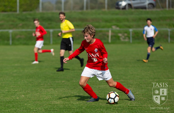 TASIS JV Boys Soccer Takes on ASM (American School of Milan)