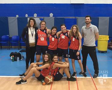 TASIS Middle School Girls Basketball vs ASM