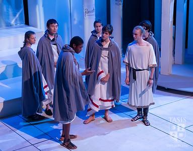 "TASIS Fall Theater Production of ""antigone/CAESAR"""