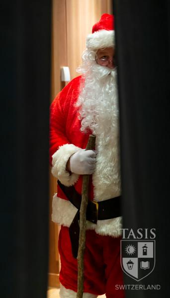 Santa Claus stops by campus!