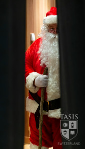 Santa Claus stops by campus!