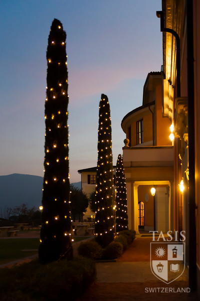 The TASIS Campus Looking Festive!