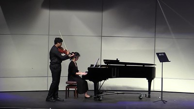 Rohan and Camille - Shostakovich Sonata
