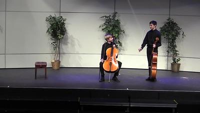 Ben & Eric - Cello Contortions