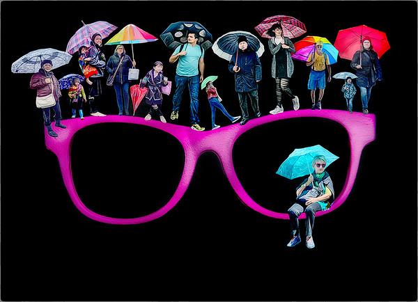 umbrella parade - Anastasia Tompkins PSA Score 14 HM