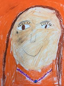 Second Grade Self Portraits