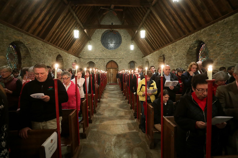 Chapel Service at the Blue Ridge School. Photo/Andrew Shurtleff Photography, LLC
