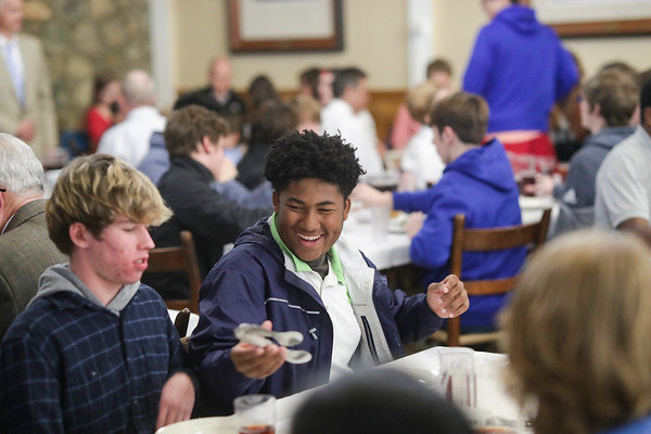 Thanksgiving Dinner at Blue Ridge School Nov. 15, 2018. Photo/Andrew Shurtleff Photography, LLC