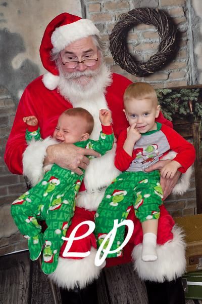 Cardinal Santa Christmas and 9 mo (11 of 23)