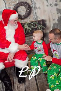Cardinal Santa Christmas and 9 mo (4 of 23)