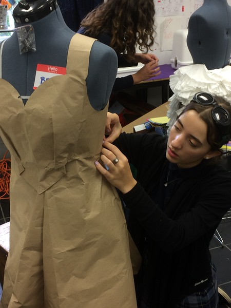Fashion Design Class © Megan Liggett